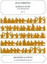 Karelia-Suite, Opus 11 - Conducteur - Jean Sibelius - laflutedepan.com