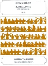 Jean Sibelius - Karelia-Suite, Opus 11 - Conducteur - Partition - di-arezzo.fr