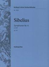 Jean Sibelius - Sinfonía nº 4 a-moll op. 63 - Partitur - Partitura - di-arezzo.es