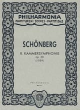 Arnold Schoenberg - Kammersymphonie Nr. 2 op. 38 - Partitur - Sheet Music - di-arezzo.co.uk