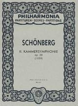 Arnold Schoenberg - Kammersymphonie Nr. 2 op. 38 – Partitur - Partition - di-arezzo.fr