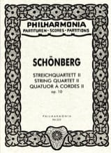 Arnold Schoenberg - Streichquartett Nr. 2 op. 10 - Partitur - Sheet Music - di-arezzo.co.uk