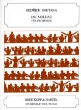 La Moldau - Conducteur - Bedrich Smetana - laflutedepan.com