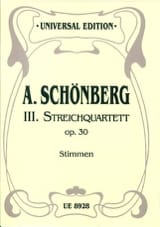 Streichquartett Nr. 3 op. 30 -Stimmen laflutedepan.com