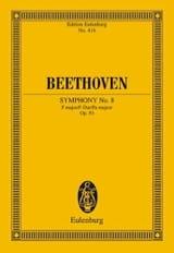 Symphonie Nr. 8 F-Dur - Ludwig van Beethoven - laflutedepan.com