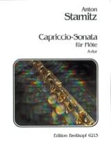 Capricccio-Sonata A-Dur - Flöte solo Anton Stamitz laflutedepan.com