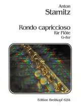 Rondo capriccioso G-Dur- Flöte solo Anton Stamitz laflutedepan.com