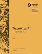 Symphonie, Nr. 5 e-moll op. 64 TCHAIKOVSKY Partition laflutedepan.com