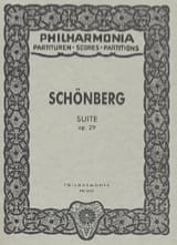 Arnold Schoenberg - Suite op. 29 - Partitur Taschen - Sheet Music - di-arezzo.co.uk