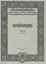 Suite op. 29 – Partitur (Taschen) Arnold Schoenberg laflutedepan.com