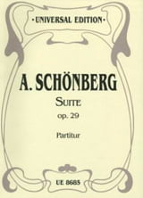 Arnold Schoenberg - Suite op. 29 - Partitur - Sheet Music - di-arezzo.co.uk
