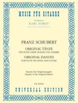 Original Tänze – Flöte o. Violine u. Gitarre laflutedepan.com