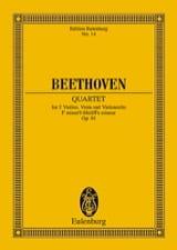 Streichquartett F-moll op. 95 –Partitur - laflutedepan.com