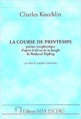Course de printemps – Conducteur - Charles Koechlin - laflutedepan.com