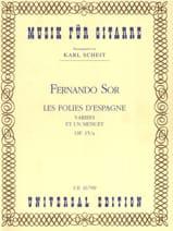 Les Folies d'Espagne variées et un Menuet op. 15/a laflutedepan.com