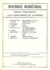 Tijuca Darius Milhaud Partition Violoncelle - laflutedepan.com