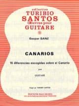 Gaspar Sanz - Canarios - Partition - di-arezzo.fr