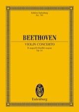 Ludwig van Beethoven - Violin-Konzert D-Dur, op. 61 D-Dur - Partition - di-arezzo.fr