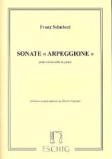 SCHUBERT - Sonata Arpeggione, the minor D. 821 - Sheet Music - di-arezzo.com
