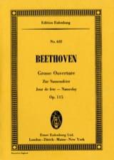 Zur Namensfeier, Ouverture - Ludwig van Beethoven - laflutedepan.com