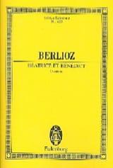 Beatrice et Benedict, Ouverture BERLIOZ Partition laflutedepan.com