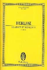 BERLIOZ - Beatrice et Benedict, Ouverture - Partition - di-arezzo.fr