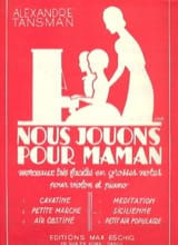 Nous jouons pour maman - n° 5 : Sicilienne - laflutedepan.com