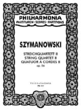 Streichquartett Nr. 2 op. 56 – Partitur laflutedepan.com