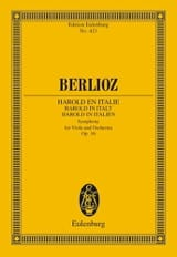 BERLIOZ - Harold In Italy Op. 16 - Sheet Music - di-arezzo.co.uk