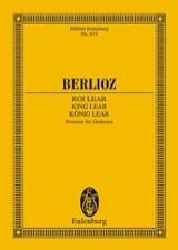 König Lear, Ouverture BERLIOZ Partition laflutedepan.com