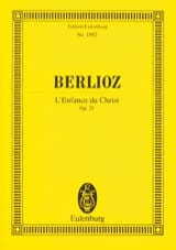 BERLIOZ - The Childhood Of Christ - Driver - Sheet Music - di-arezzo.com