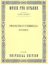 Francisco Tarrega - Studies - Sheet Music - di-arezzo.com
