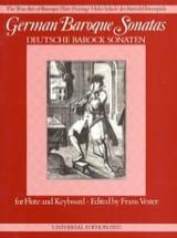 German Baroque Sonatas - Flûte et Piano laflutedepan.com