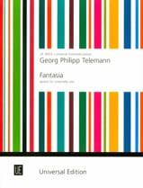 Fantasia Georg Philipp Telemann Partition laflutedepan.com