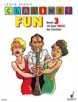 Clarinet Fun - Book 3 – Trios Leslie Searle Partition laflutedepan.com