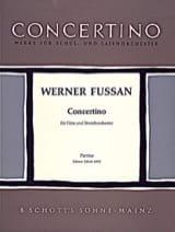 Concertino - Flöte und Streichorch. - Partitur laflutedepan.com