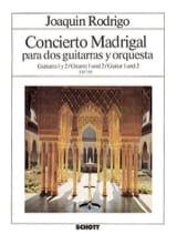 Concierto Madrigal - Gitarre 1 et 2 Joaquín Rodrigo laflutedepan.com