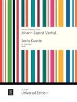 Johann Baptist Vanhal - 6 Duette - Band 1 – 2 Flöten - Partition - di-arezzo.fr