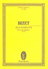 BIZET - Children's Games Op. 22 - Sheet Music - di-arezzo.co.uk