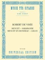 Menuet - Sarabande - Menuet en Rondeau - Gigue laflutedepan.com