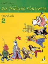 Rudolf Mauz - Die fröhliche Klarinette - Spielbuch 2 - Partitura - di-arezzo.es