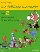 Rudolf Mauz - Die fröhliche Klarinette - Bd. 2 - Sheet Music - di-arezzo.co.uk