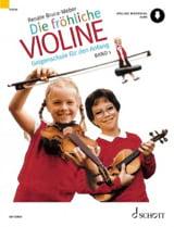 Renate Bruce-Weber - Die fröhliche Violine - Bd. 1 - Partition - di-arezzo.fr