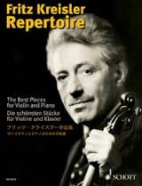 Fritz Kreisler Repertoire Volume 1 Fritz Kreisler laflutedepan.com