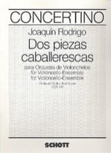 Dos piezas caballerescas – Partitur Joaquín Rodrigo laflutedepan.com