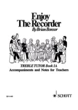 Brian Bonsor - Enjoy the recorder - 1A - Treble teacher - Sheet Music - di-arezzo.com
