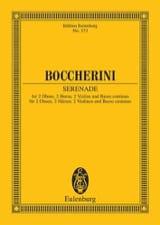 Luigi Boccherini - Serenade D-Dur - Partition - di-arezzo.fr