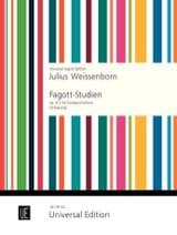 Fagott-Studien op. 8/2 Julius Weissenborn Partition laflutedepan