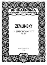 Streichquartett Nr. 2 op. 15 - Partitur laflutedepan