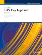 Heinz Both - Let's Play Together - 2 Klarinetten - Partition - di-arezzo.fr